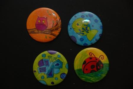 Badge colorier - Cle a colorier ...